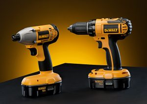 photo of dewalt drills