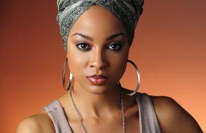 portrait headshot of african american model