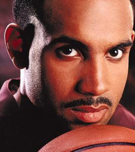 photo of Grant Hill NBA basketball superstar