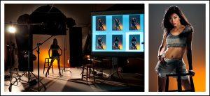 fashion photography studio photo session