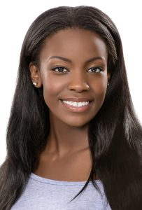 headshot of an actress for a talent agency