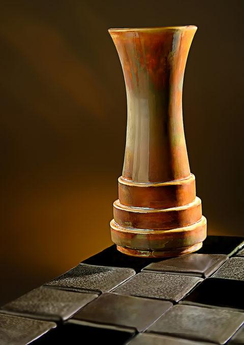 photo of pewabic ceramic pottery