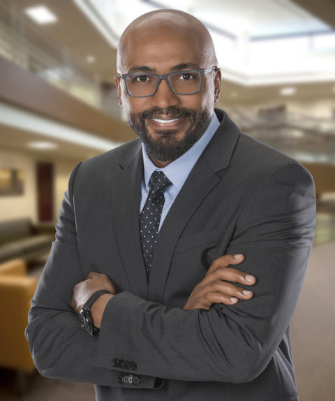 business executive headshot african american male