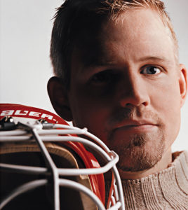 hockey goalie Chris Osgood Detroit Red Wings