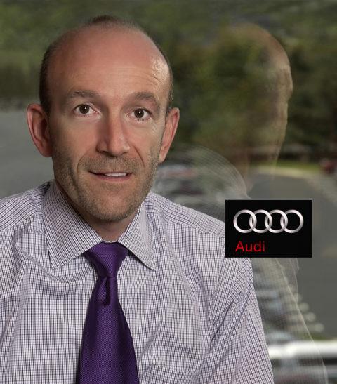 photo of auto executive for audi volkswagen