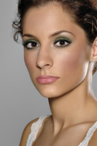 headshot of professional model in michigan