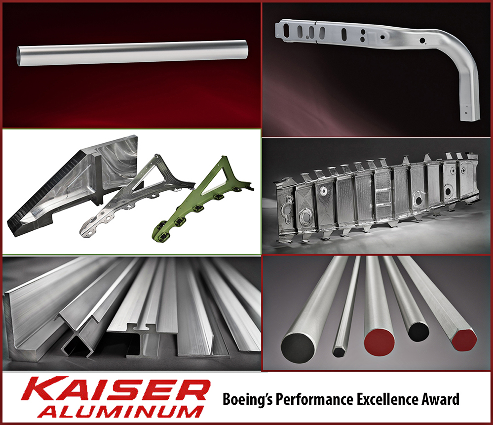 airplane parts for Kaiser and Boeing