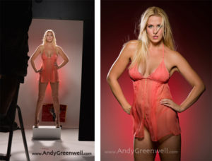 cool corporate headshots and lingerie photographer