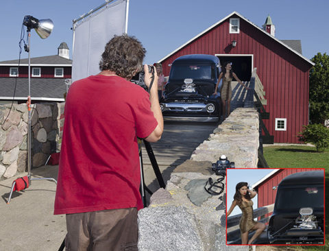 top commercial photographer shooting models