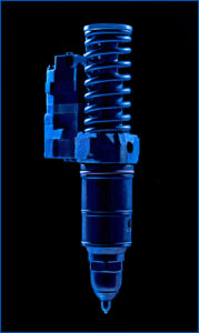 shock absorber, fuel injector, auto parts photography