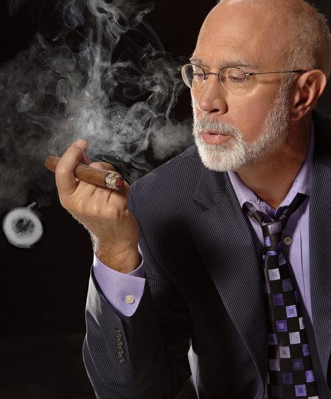 business headshot of an executive