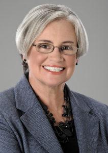 headshot of mature businesswoman ceo