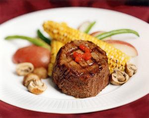 food photographer ribeye steak for menus