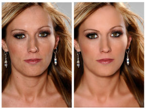 photo editing services for a model and actress