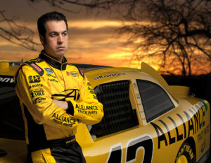 NASCAR driver Sam Hornish