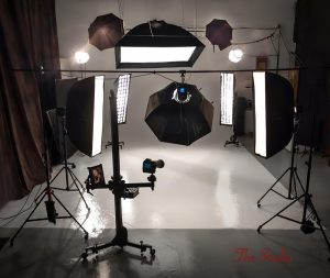 Image of Andy Greenwell's photography studio