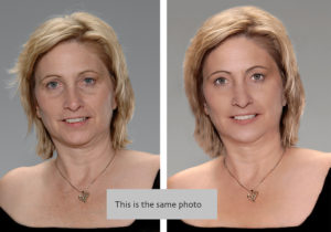 photo retouching of real estate agent in michigan