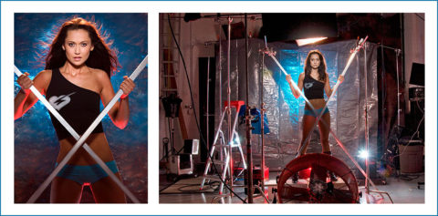 professional model fashion magazine cover