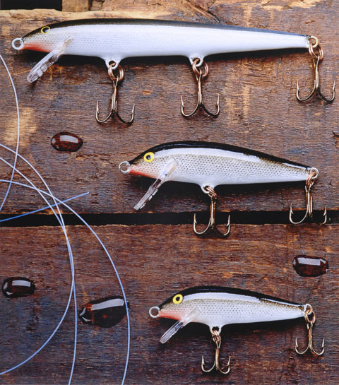 photo of fishing lures
