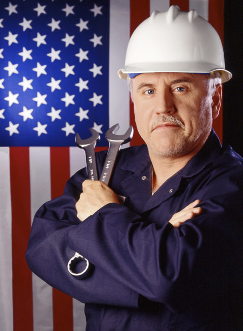 photo of uaw union worker