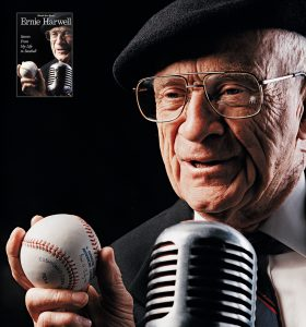 Ernie Harwell book cover by Andy Greenwell