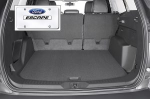 Ford Escape photography of seating and interiors.