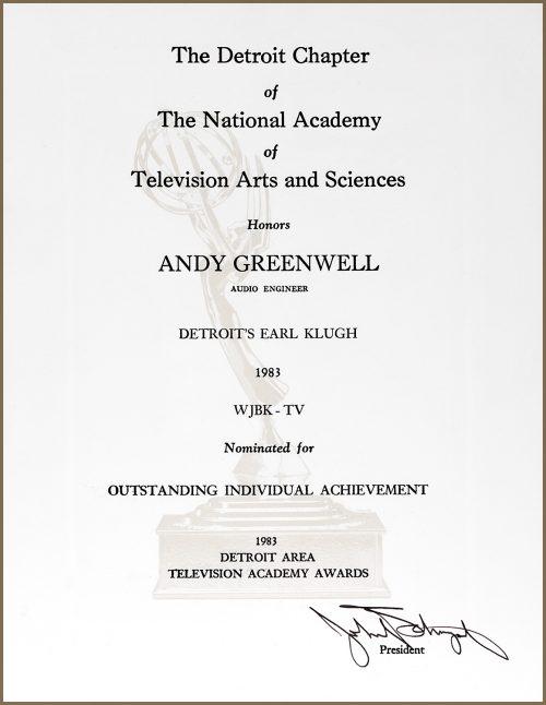 Emmy Nomination for Detroit's Earl Klugh