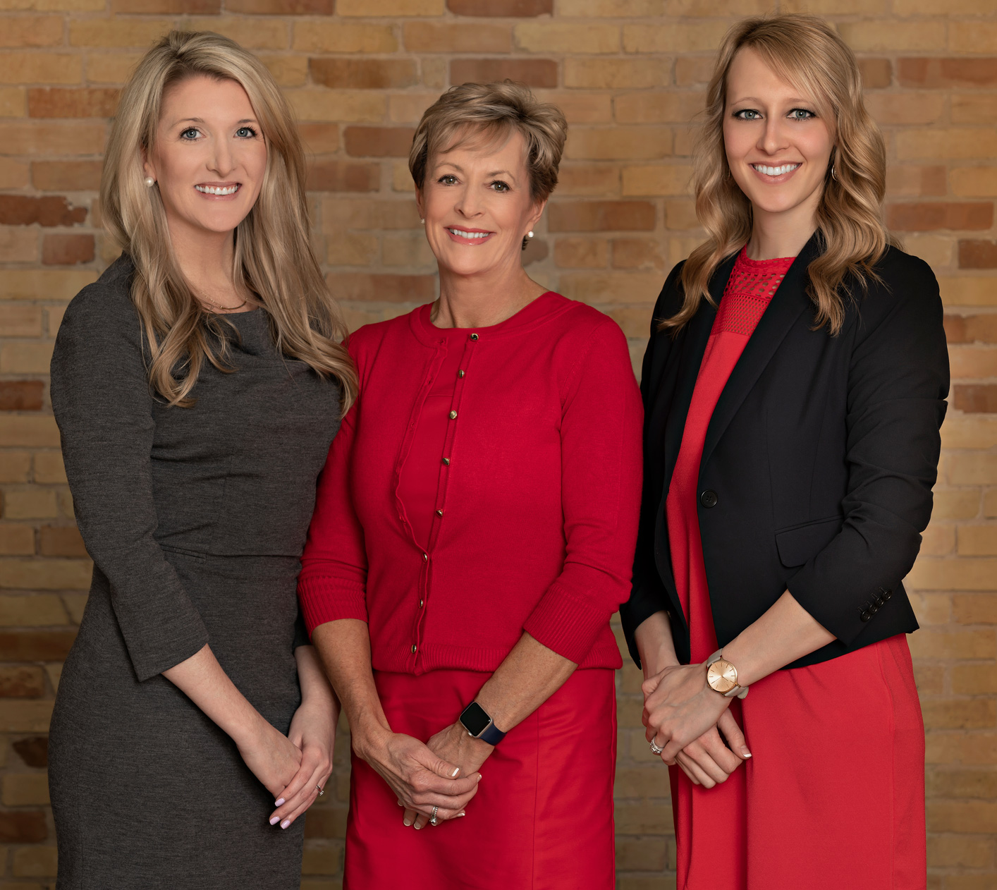 group photo of women for business website
