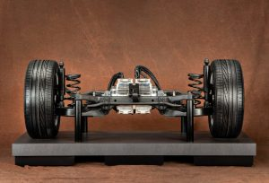 automotive photography of suspension and shocks absorbers