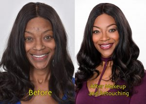 photo retouching before & after