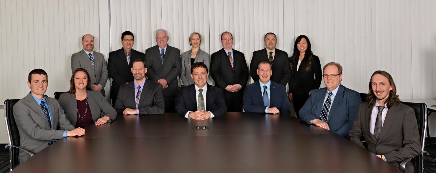 group photo of executives