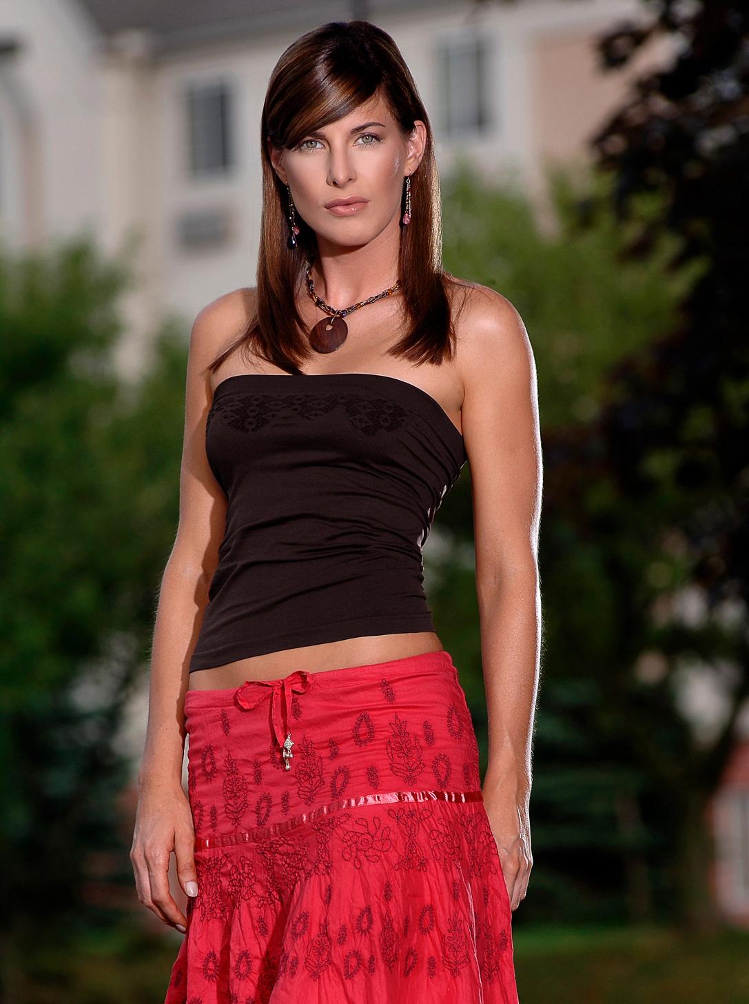 fashion photo of a professional model