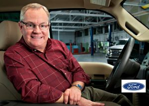 business headshot of automotive worker executive