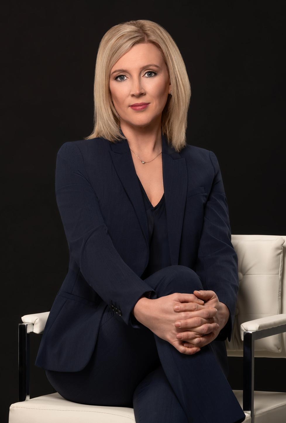business headshot of a female executive