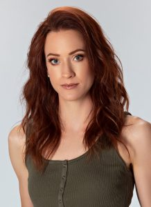 photo of a redhead red haired auburn model