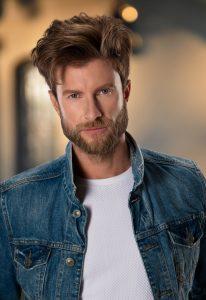 headshot of male model for talent agency