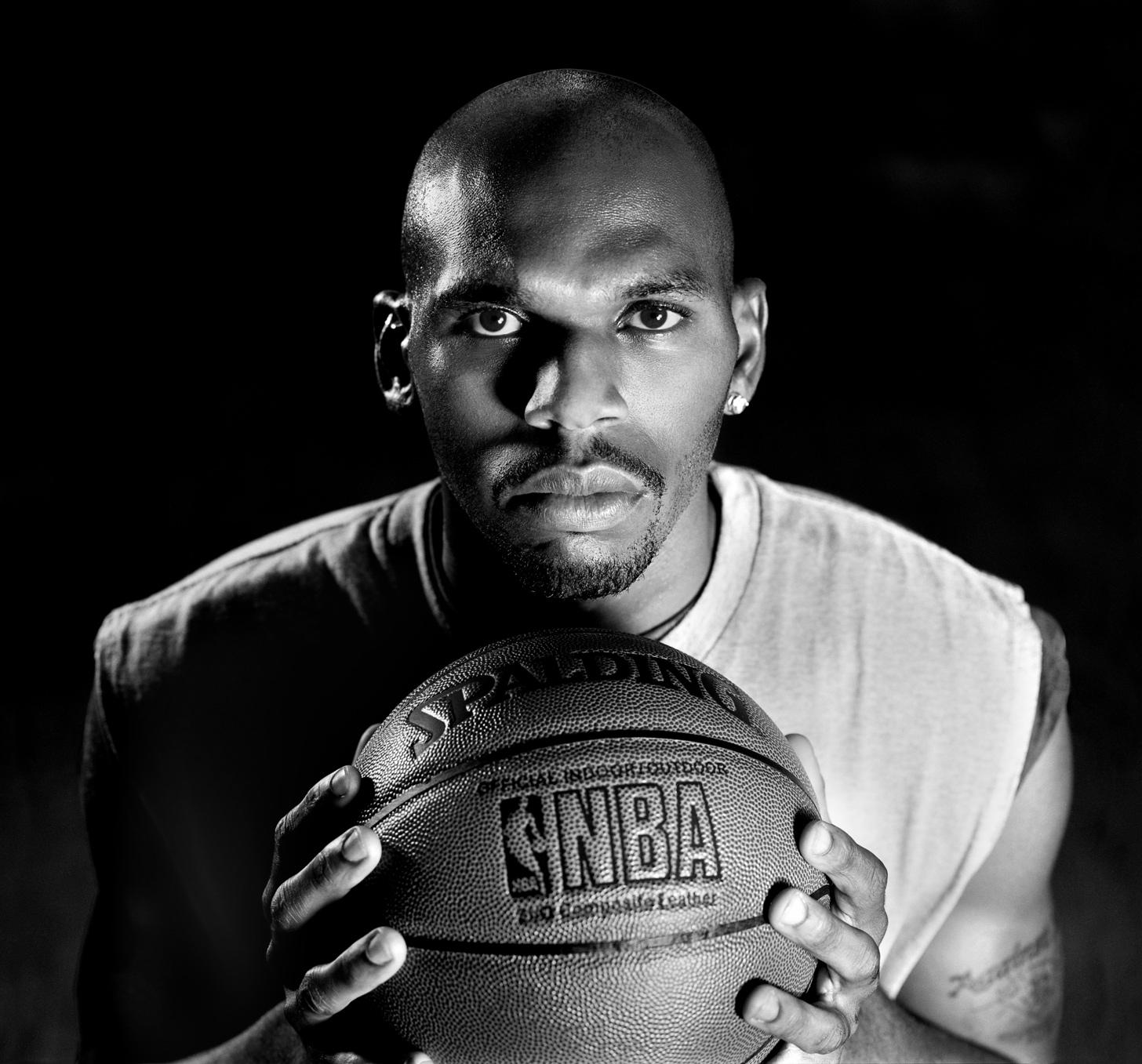 celebrity photography jerry stackhouse Detroit Pistons
