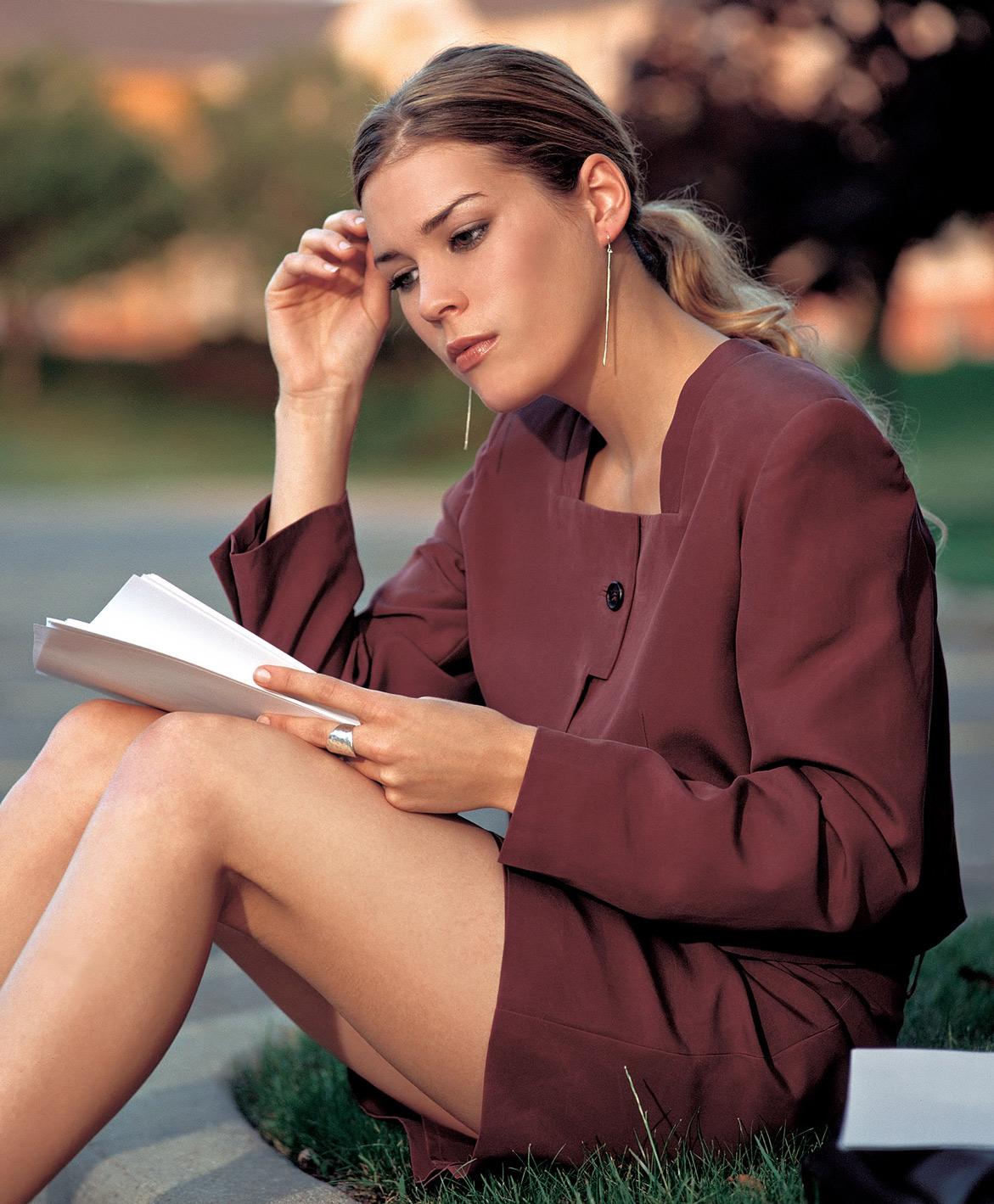 fashion catalog photography of professional model