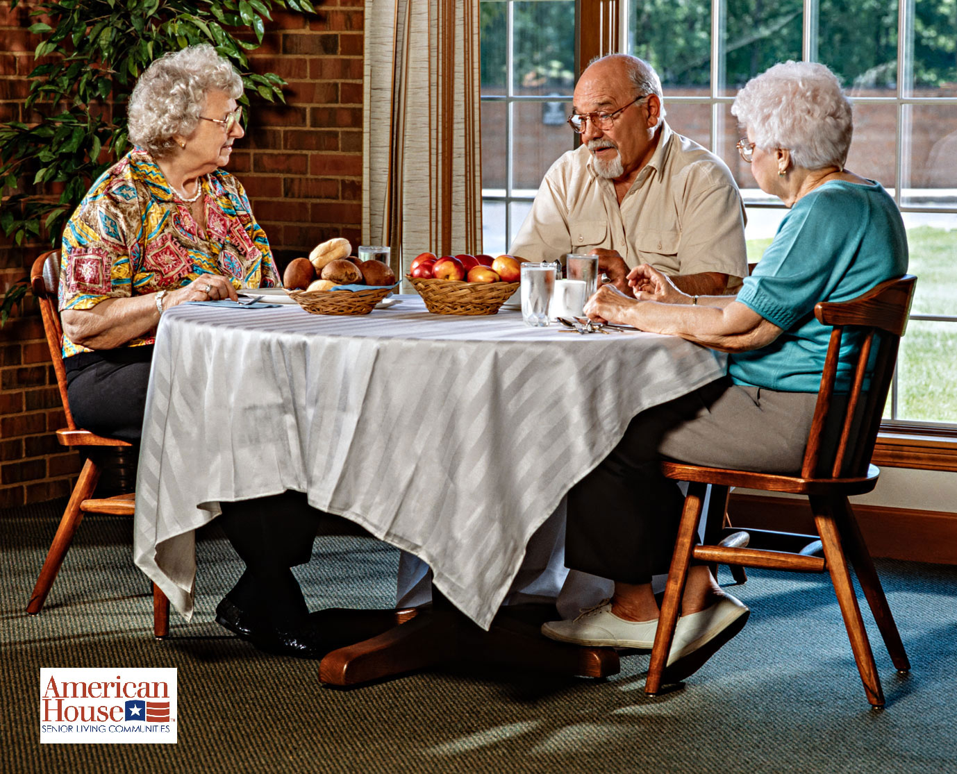 senior citizen retirement community photography