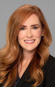 headshot portrait of female attorney