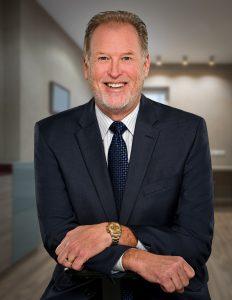 business headshot of CEO executive